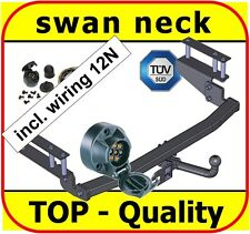 Towbar & Electric 12N Opel / Vauxhall Astra MK4 G Estate 1998 to 2005 swan neck