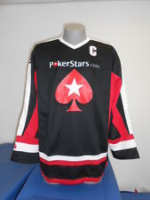 Mats Sundin World Series of Poker Mens Captain's Hockey Jersey New L
