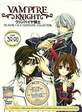 DVD Anime Vampire Knight Season 1+2 Ultimate Collection English Dubbed Free Ship