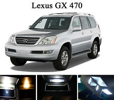 Xenon White Vanity / Sun visor  LED light Bulbs for Lexus GX 470 (4 Pcs)