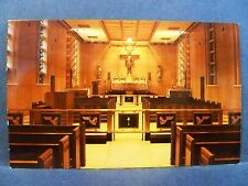 Postcard IL Belleville Chapel St. Elizabeth Hospital & Home for Aged