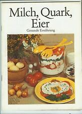 DDR Zeitschrift Milch, Quark und Eier 1982