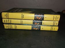 THREE VINTAGE NANCY DREW MYSTERY STORIES