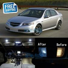 White LED Lights Interior Package Kit For 2004-2008 Acura TL