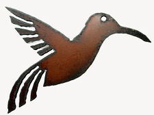 Hummingbird Art Rustic Home Decor Fridge Magnet Rustic Metal Hummingbird