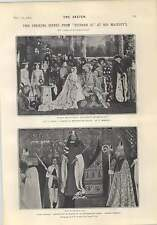 1903 Striking Scenes Richard Ii The Tyranny Of Evening Dress