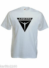 T-shirt JUNKERS, aviation, pilote, aéronautique, S, M, L, XL  NEUF, NEW