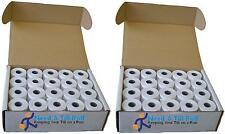 ROLLS TO FIT VERIFONE 3740 VX510 VX570 VX610 VX670 VX810 (40 ROLLS - 2 BOXES)