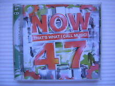 NOW THAT'S WHAT I CALL MUSIC! 47 - 42 HIT TRACKS - 2 DISCS - FREE POST UK