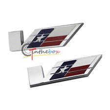 2PCS Metal Vsport V-Sport Body Rear Trunk Lid Stick Badge Emblem Cadillac Motors