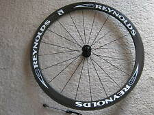 REYNOLDS DVT CARBON TUBULAR  FRONT WHEEL, 46mm DEEP-V, 700c, VGC