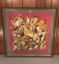 Vintage Signed Hermes Silk Scarf Depicting Game Birds and Animals 1990s Hermes P