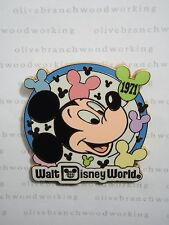 ARTIST PROOF WDW Disney World RETRO MICKEY BALLOONS Gold Card Collection Pin *AP