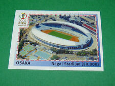 N°21 OSAKA STADE WORLD CUP PANINI FOOTBALL JAPAN KOREA 2002 COUPE MONDE FIFA