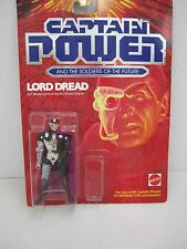 "Captain Power - ""LORD DREAD"" - 1987 Mattel - #3906 - Evil Mastermind"