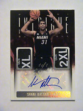 2013-14 Intrigue Shane Battier Miami Heat Duke Dual Tag Auto 1/1