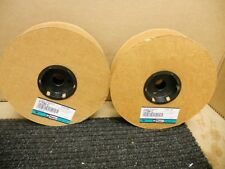 2 Rolls - New Panduit T25N-C Spiral Wrap, Nylon, Natural, 0.25in OD 200ft