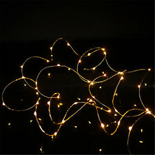 2M 20LED Micro Rice Wire Copper Fairy String Lights Party BG