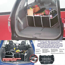 Hot Multipurpose Car Boot Organiser Partition Collapsible Storage Box Trunk Bag
