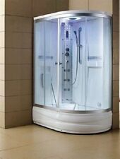 "EAGLE BATH STEAM SHOWER ENCLOSURE UNIT (RIGHT OR LEFT SIDE) ""51"" WS-903A"