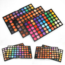 PRO 180 Color Eyeshadow 3 Palettes Eye Shadow Cosmetic Set Shimmer/Matte DIY