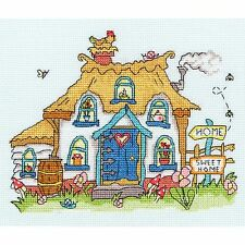 BOTHY THREADS SEW DINKY COTTAGE BY AMANDA LOVERSEED CROSS STITCH KIT - NEW