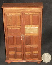 Mexican Bureau Hacienda Furniture 1:12 #MAF2202 Dollhouse Miniature Hand Carved