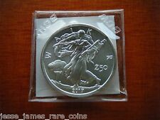 2017 SILVER WALKER ROUND ZOMBUCKS 1 TROY OZ .999 FINE Z50 WALKING LIBERTY EAGLE