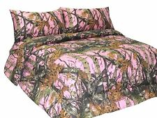 Bedding Premium Microfiber Two Sided Comforter Woods Home Camo Bed All Colors
