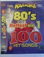 CHARTBUSTER KARAOKE CDG   80s HOTTEST HITS   6 DISC SET 100 SONGS