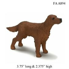 IRISH SETTER 1:12 Scale Dollhouse Miniature Dog Pet