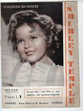 SHIRLEY  TEMPLE    NERBINI  EDITORE  FOX  FILM