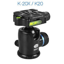Sirui K-20X 38mm Ballhead with Quick Release, 55.1 lbs Load Capacity
