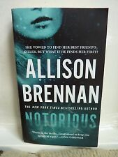 Max Revere Novels: Notorious 1 by Allison Brennan (2014, Paperback)