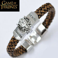 "► ""GAME of THRONES BRACELET"" Leather jewelry GoT"