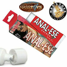 Anal-Ese Anal-Sex Lubricant Relaxes Cools Desensitize Numb Ease Cherry Lube .5oz