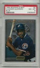 Vladimir Guerrero 1995 Bowman's Best #2 Blue Rookie Card rC PSA 8
