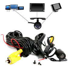 170° 12V  Mini Color CCD Reverse Backup Car Rear View Camera