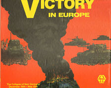 VICTORY IN EUROPE by OMEGA GAMES COLLAPSE of NAZI GERMANY Gm; NEW UNPUNCHED
