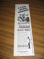 1951 Print Ad Bristol Glass Fishing Rods No. 86 Horton Bristol,CT