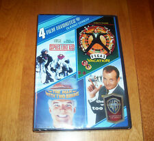 CLASSIC COMEDY 4 FILM FAVORITES Vegas Vacation Steve Martin Bill Murray DVD SET