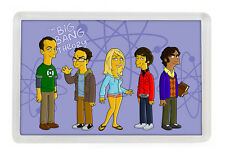 IMAN NEVERA THE BIG BANG THEORY MOD 4 - FRIDGE MAGNET LA TEORIA DEL BIG BANG