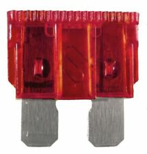 PACK OF 100 ATO ATC 10A 10AMP AUTOMOTIVE STANDARD CAR BLADE FUSES RED FUS1110