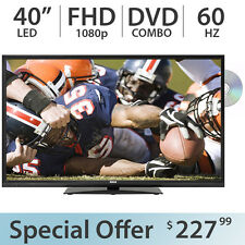 "RCA 40"" Inch 1080p FULL HD LED TV FHD 60Hz w/ DVD Combo and 2 HDMI - LED40G45RQD"