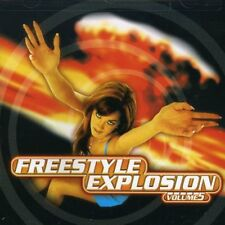 Vol. 5-Freestyle Explosion - Freest (1998, CD NEUF) Shannon/Johnny O/Cover Girls
