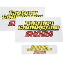 Factory Connection Fork/Shock Decal Set  SHOWA FCSHOWADCLSET*