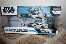 Hoth Speeder Bike Patrol STAR WARS Legacy Collection Battle Pack Mint in Box!