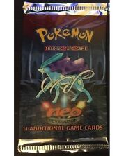 Pokemon NEO Revelation Booster Pack From Box! Ho-Oh? Raikou? Out of Print, Rare!