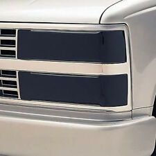 94-99 GMC CK Sierra Suburban Yukon GTS Acrylic Smoke Headlight Covers 4pc Set