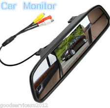 """4.3"""" Rearview Mirror Color LCD Digital Monitor For Car Reverse Camera/DVD Player"""